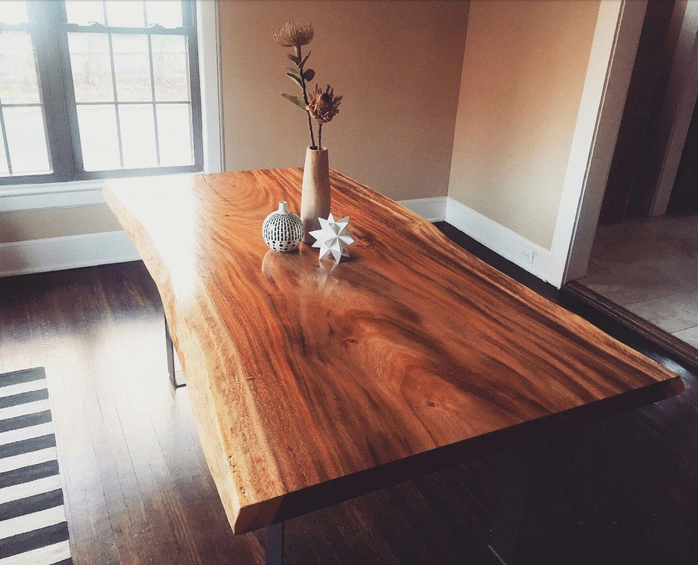 Live Edge Monkey Pod Dining Tables