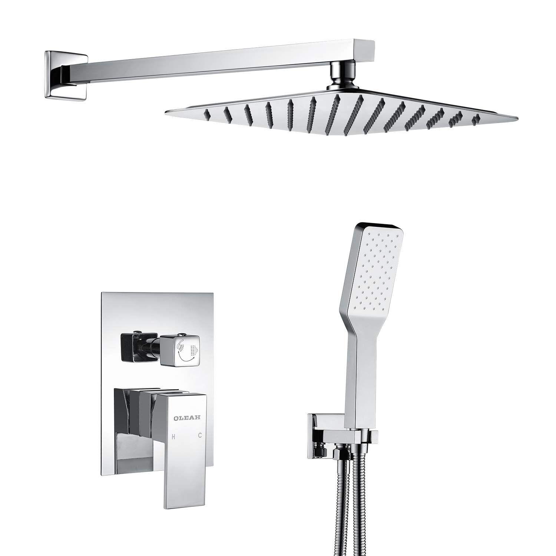 OLEAH Dual Funktionen Duschsystem Unterputz Duschset mit