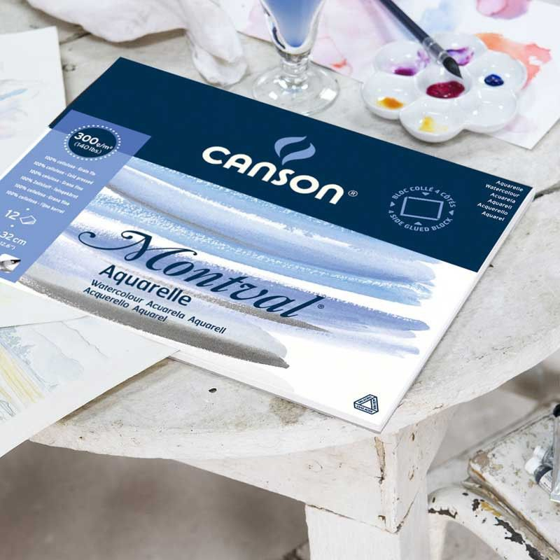 Akvarelblok Canson Montval Watercolor Watercolor Paper Paper