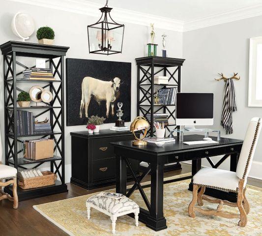 Cozyhouse Decor: Black Office Furniture, Decor