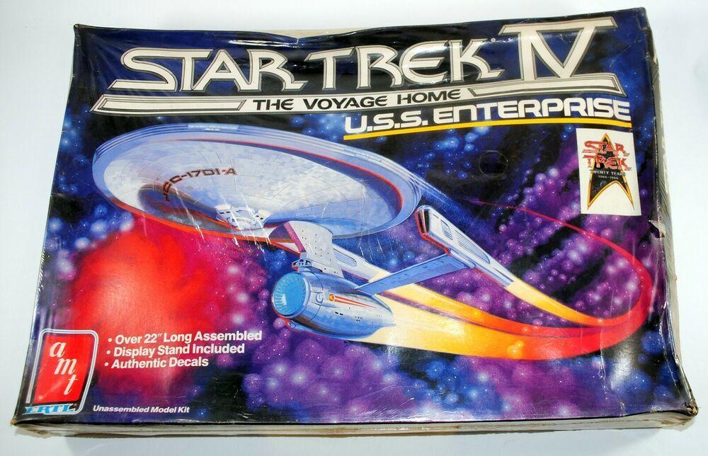 AMT Star Trek IV The Voyage Home U.S.S. Enterprise Model