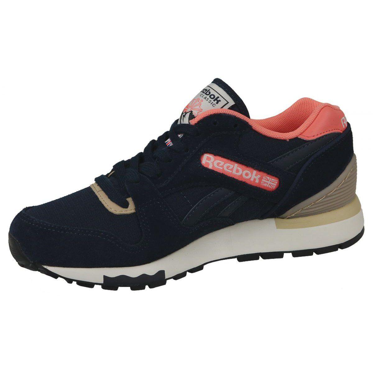 Buty Reebok Gl 6000 Out Color W Bd1580 Granatowe Reebok Sport Shoes Women Reebok Shoes