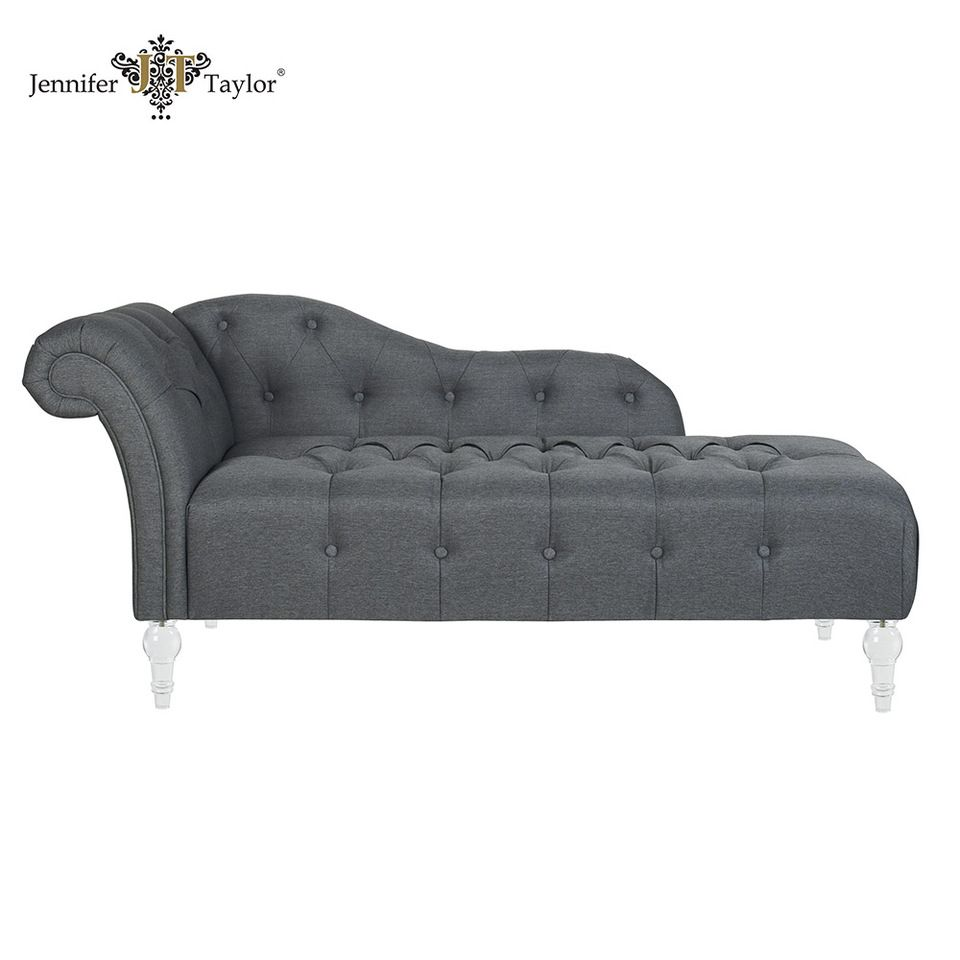 Alibaba China antique chaise lounge chair with acrylic legs/ living ...