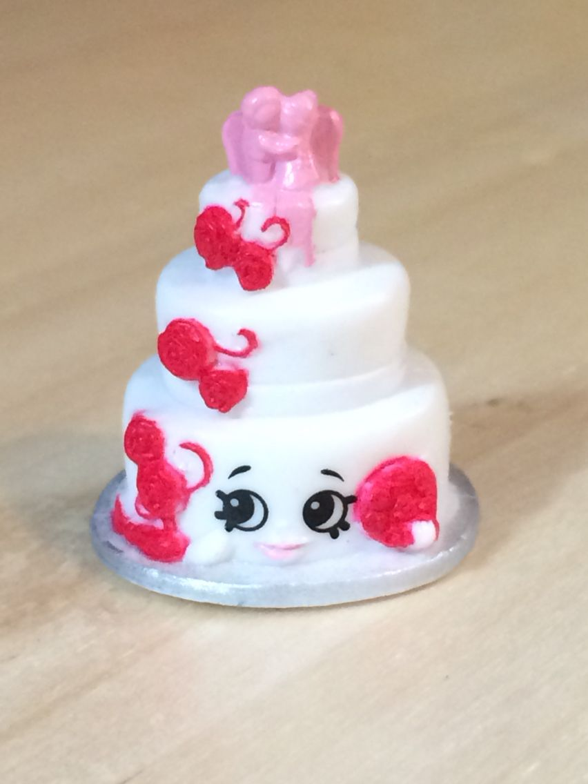 Wendy Wedding Cake White 3 008 Shopkins Season 3 Shopkins Birthday Cake Shopkins Party Shopkins