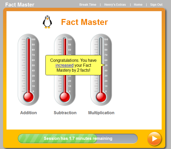MobyMax added Fact Master as a stand alone module! Build fluency ...