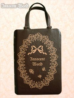 Rose lace book bag from Innocent World. Another in my favorite ...
