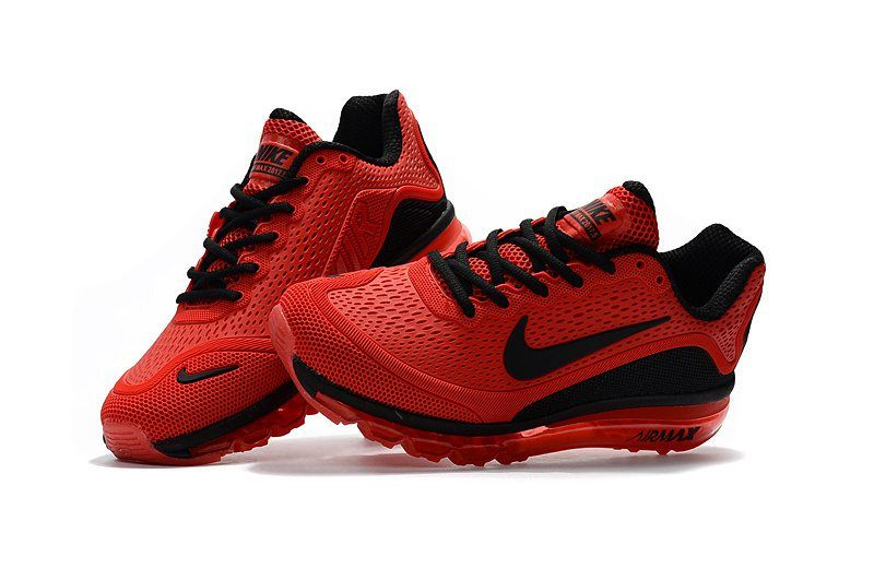 size 40 01303 d7289 New Coming Nike Air Max 2017 5Max KPU Red Black