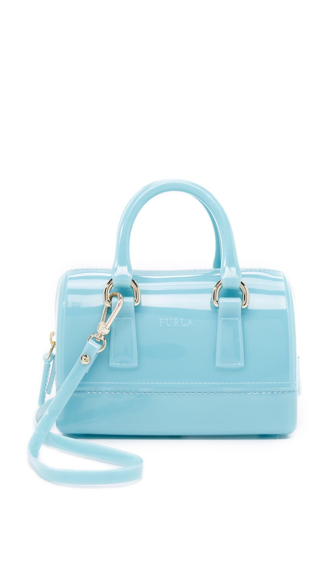 Furla Candy Sweetie Mini Cross Body Bag Aquamarina Shopbop Com