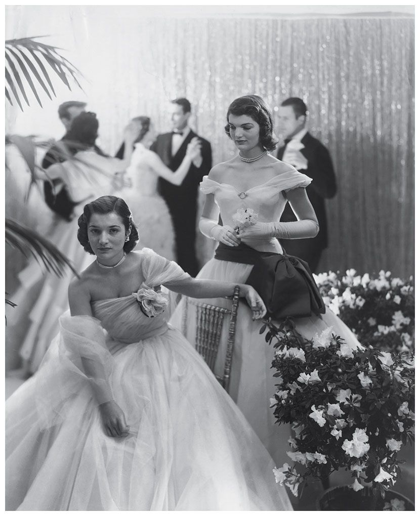 All Sizes Jacqueline With Her Sister At A Debutante Ball 1951 Flickr Photo Sharing