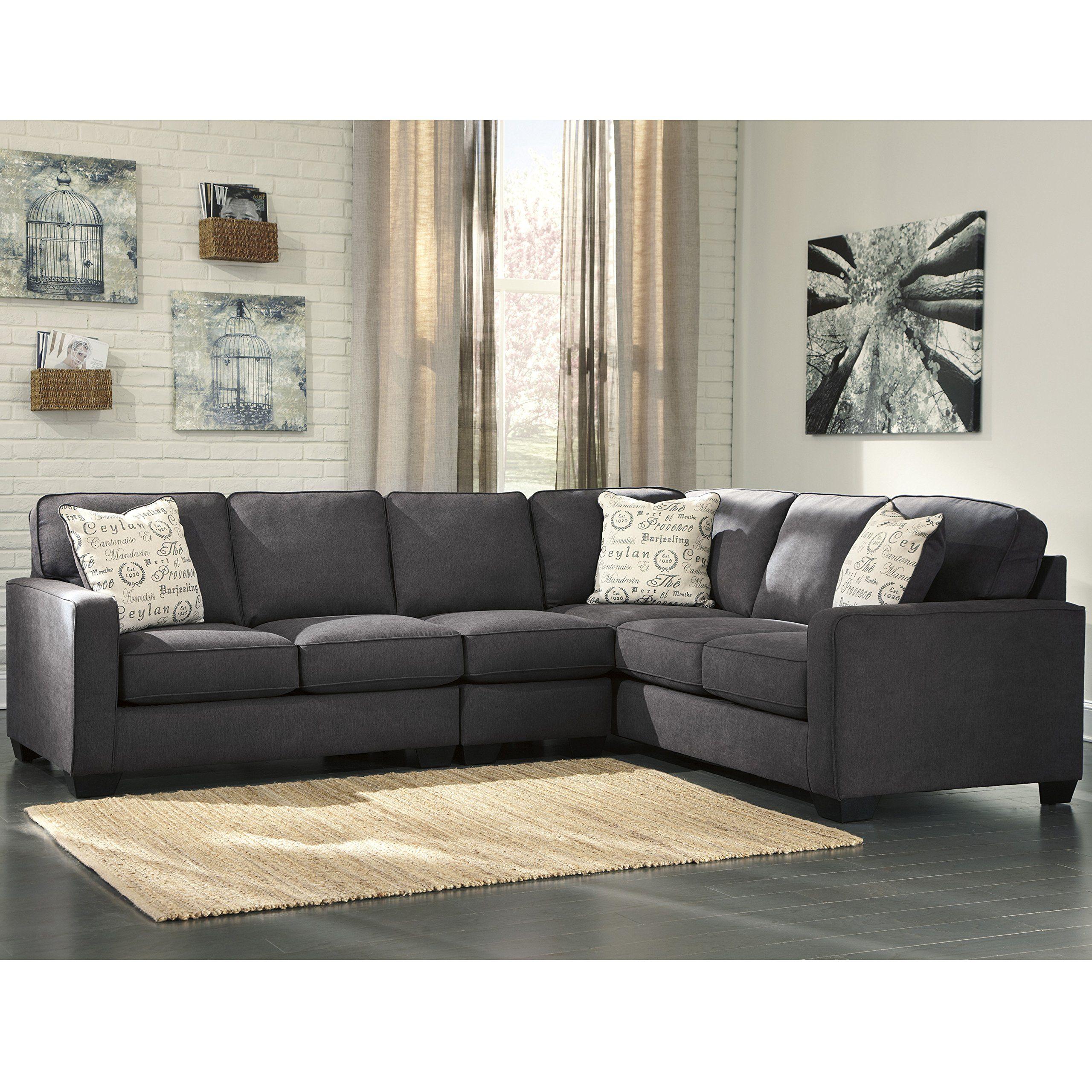 Flash Furniture Signature Design by Ashley Alenya 3Piece RAF Sofa