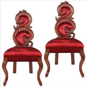 Renaissance Accent Chairs Set Of Two With Images Design Toscano Accent Chair Set Accent Chairs