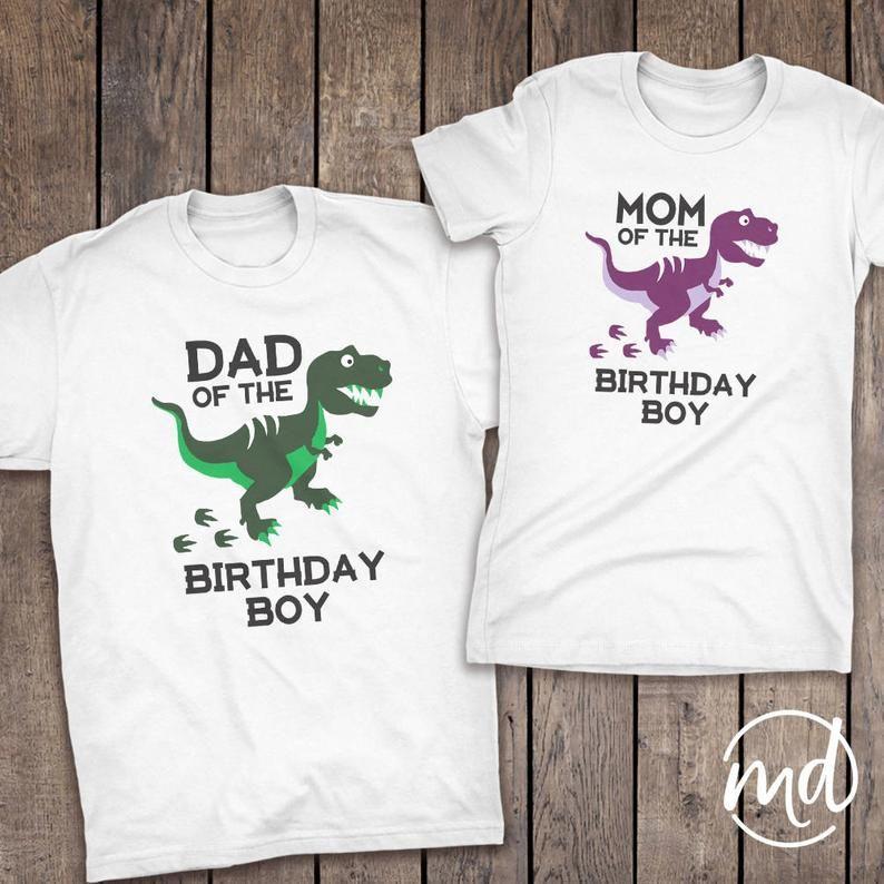 Dinosaur Birthday Shirt Family Coordinating Dinosaur