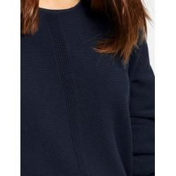 Photo of Pullover mit Strukturstrick Blau Gerry Weber