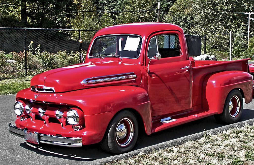 Early 50s Vintage Ford Pickup