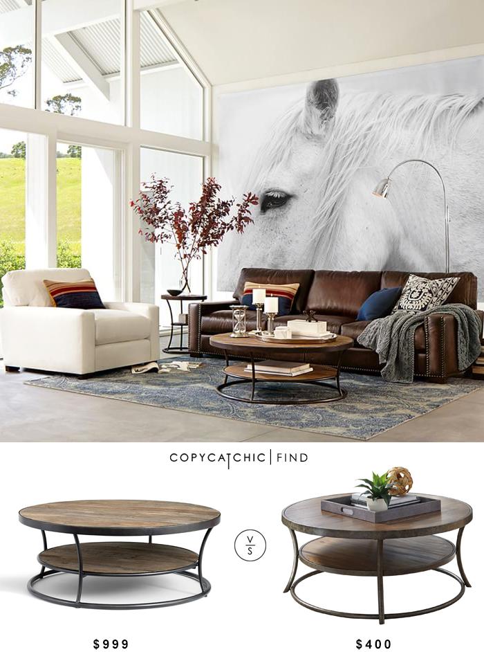 Room Potterybarn Bartlett Reclaimed Wood Coffee Table