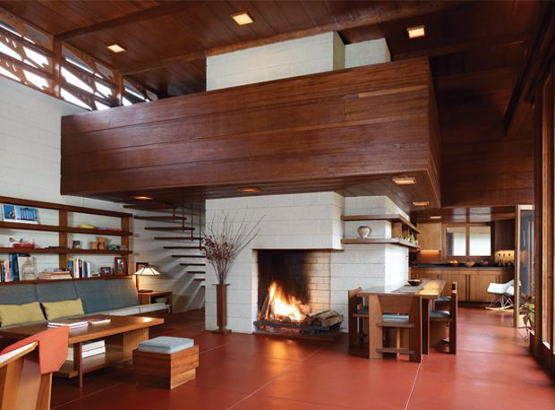 Frank Lloyd Wright Bachman Wilson House Tarantino Architect