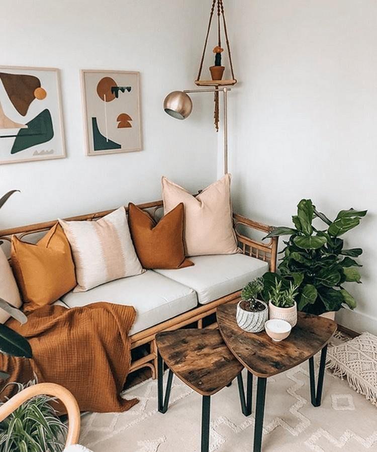Boho Wohnzimmer: Einrichtungstipps + viele tolle Ideen!
