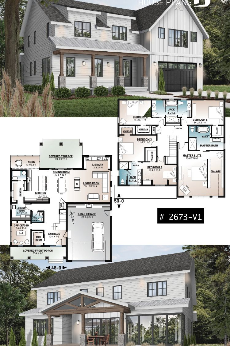 Discover the house plans collection Farmhouse style house plans by Drummond House Plans