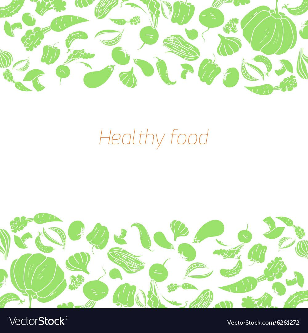 Text placeholder green vegetables background Vector Image ,