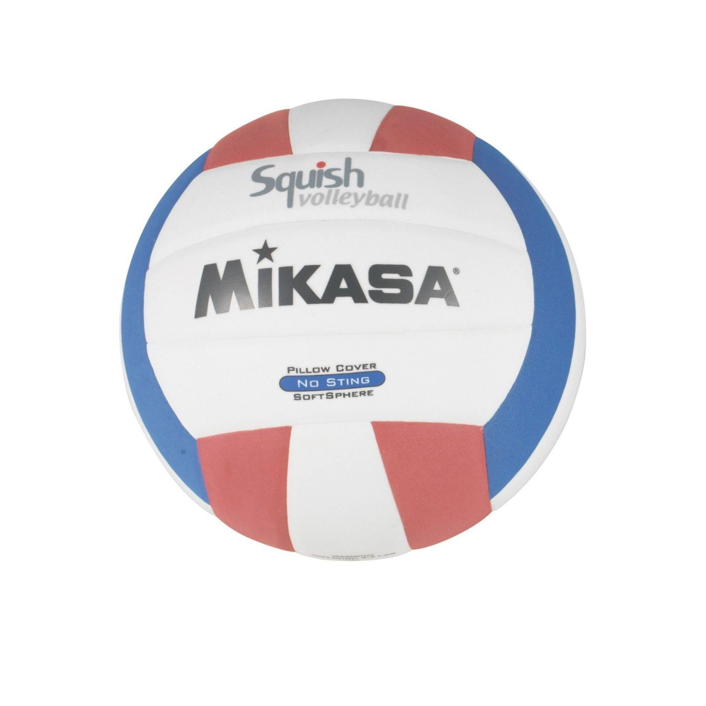 Mikasa Squish Volleyball Red White Blue Red And White Mikasa Volleyball