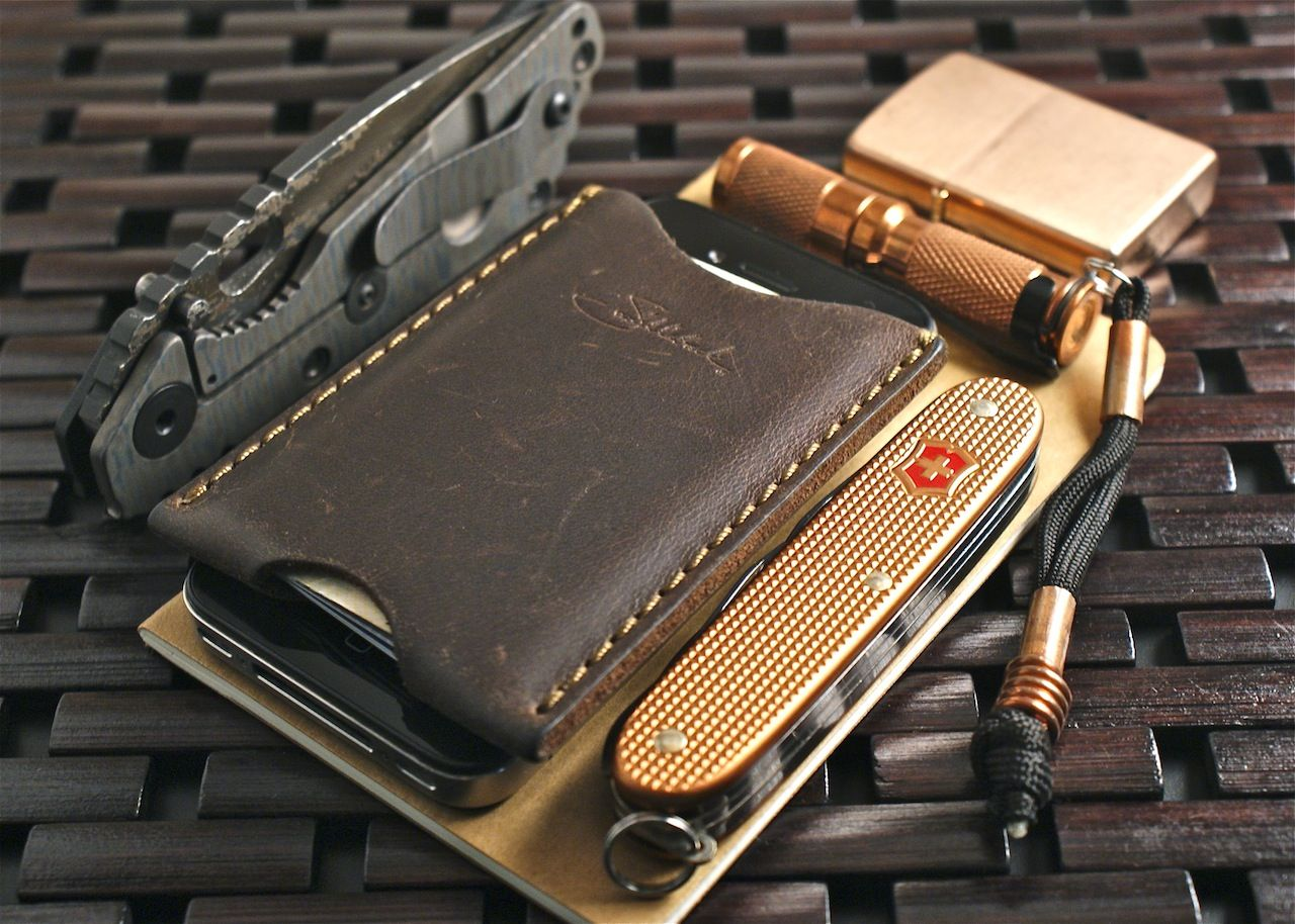 Nice Leather Wallet Edc Every Day Carry Pinterest