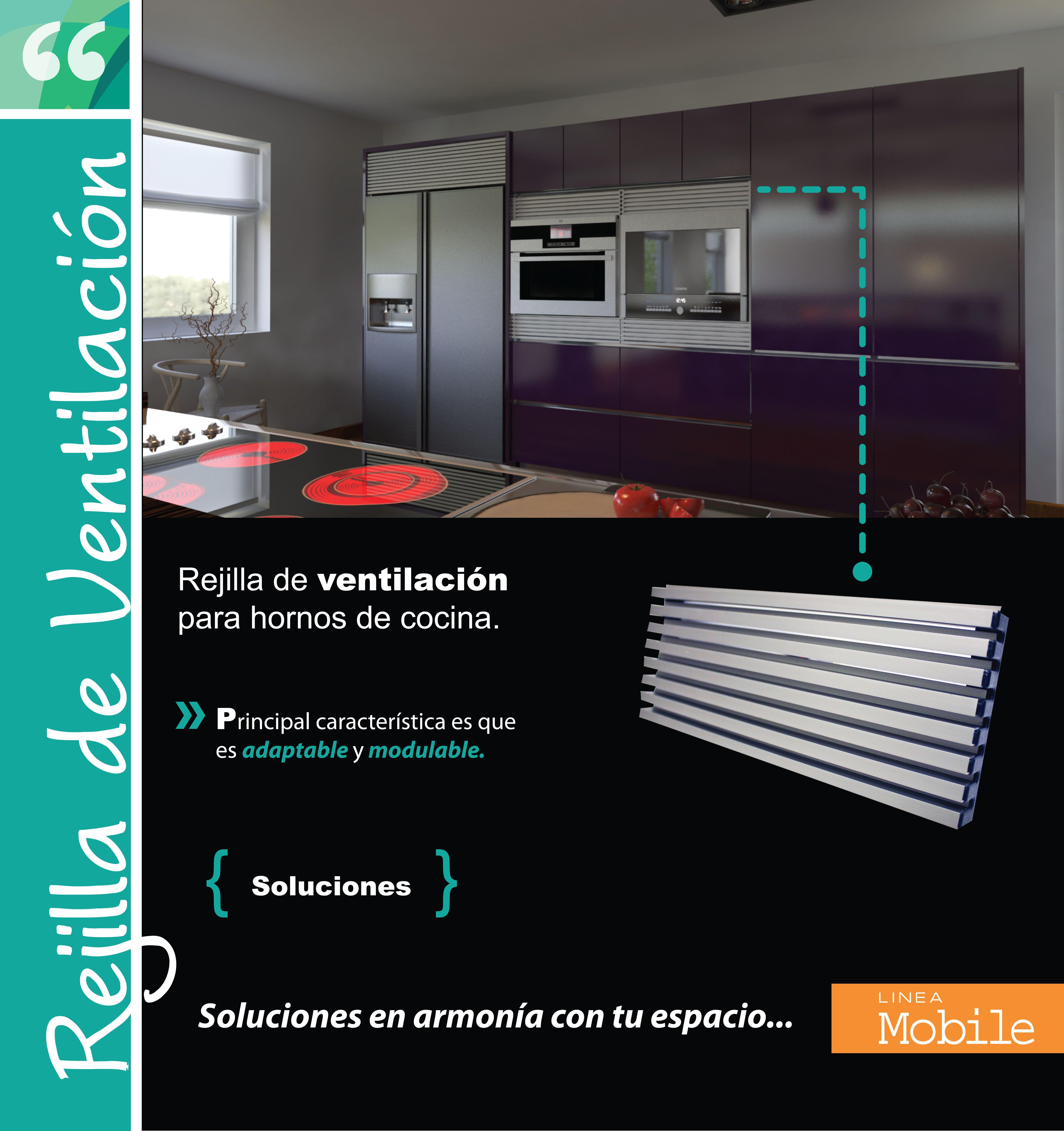 Rejilla de ventilación Rejilla de ventilación para hornos de cocina