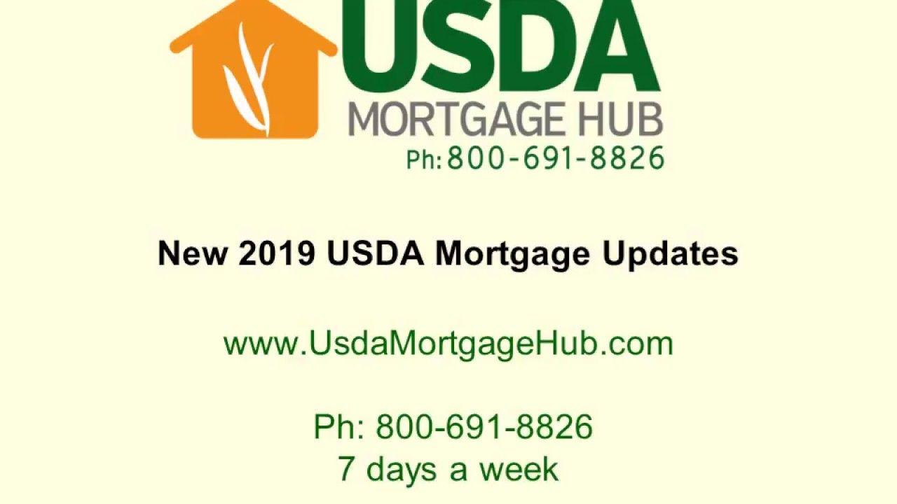 2019 Usda Mortgage Updates Mortgage Loans Mortgage Advice Mortgage