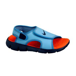 Sandalia chancla Nike Sunray Adjust velcro azul