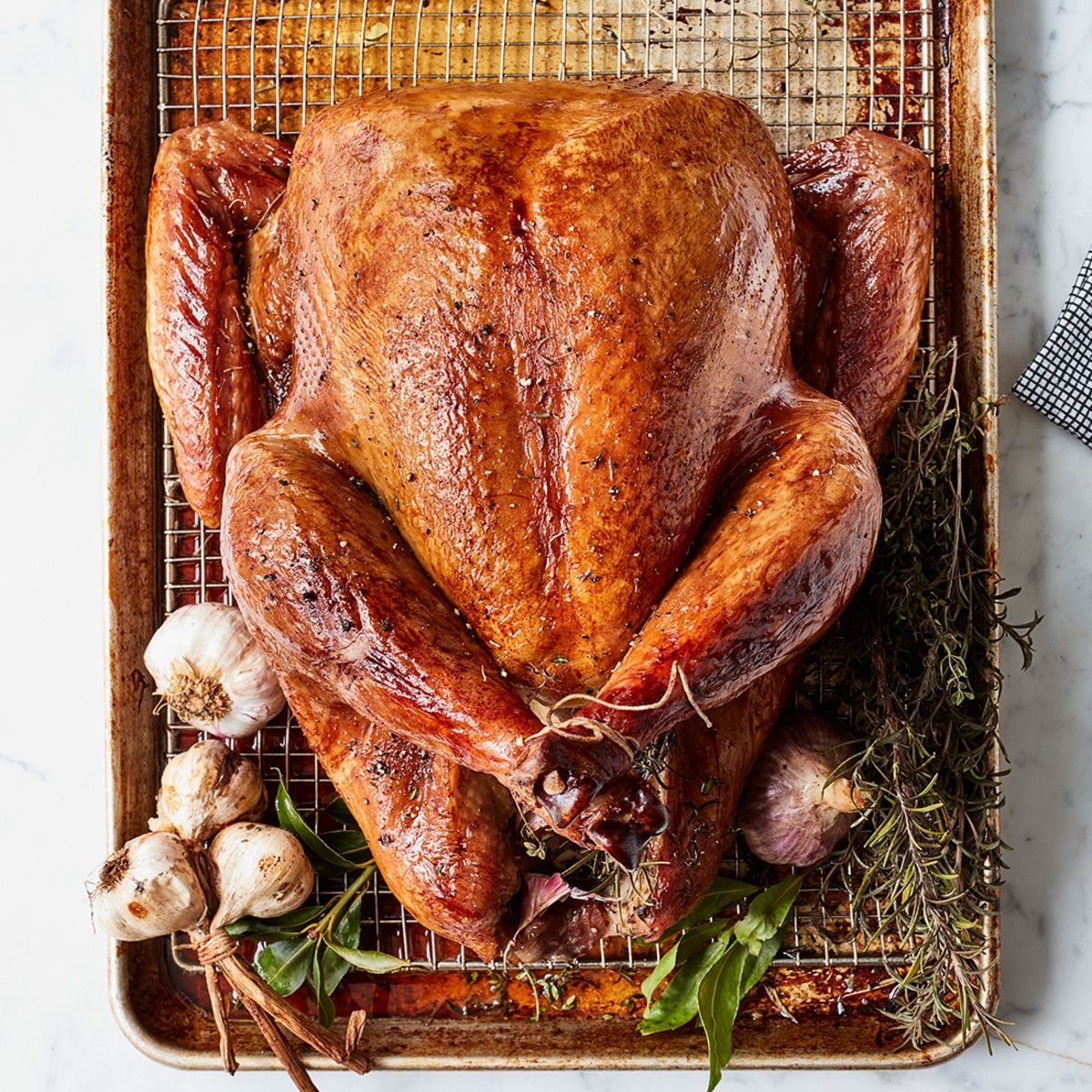 Photo of Make Brown Sugar-Brined Roast Turkey for Thankgiving