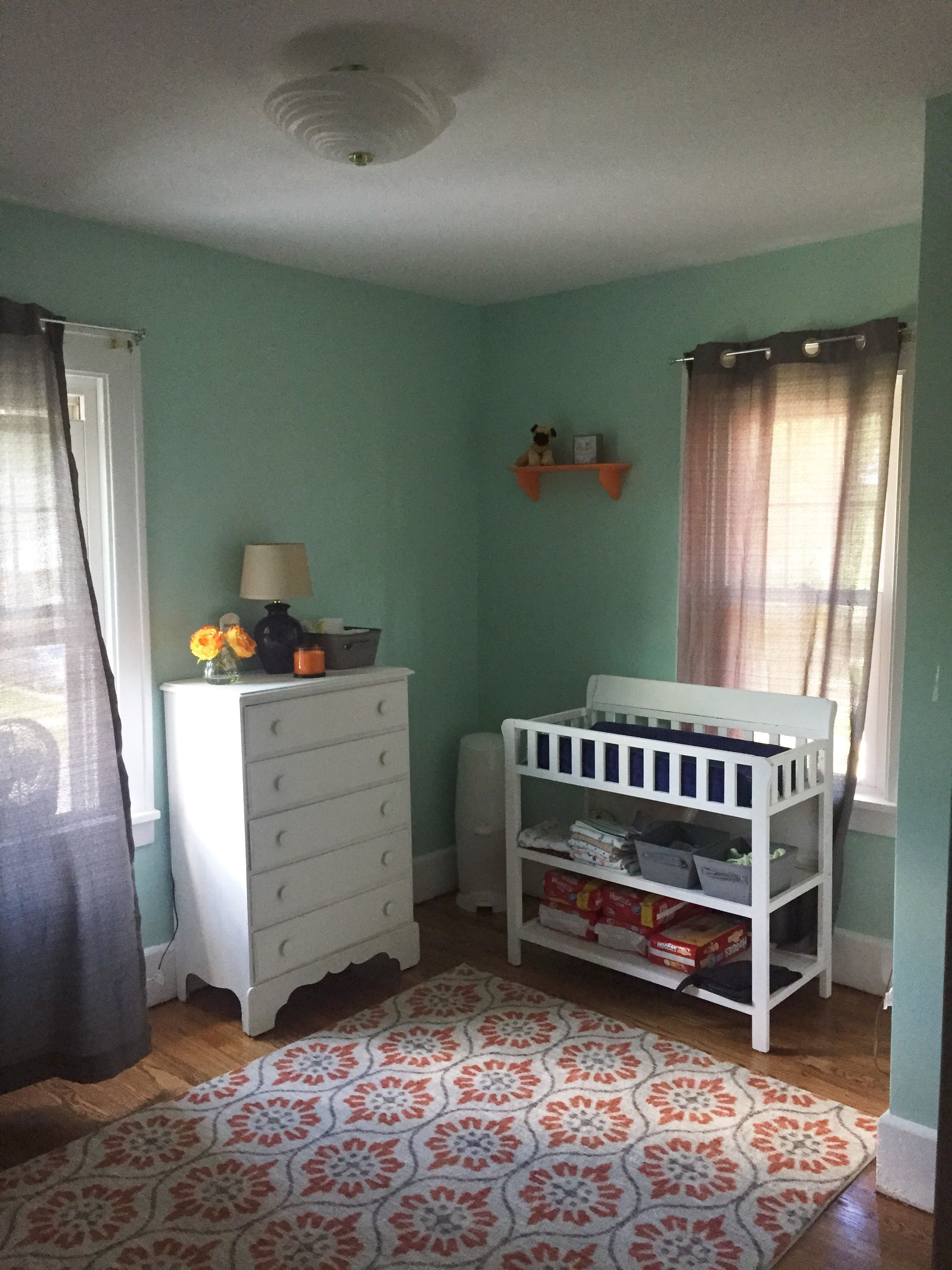 Bradley s room all furniture painted with homemade chalk paint from