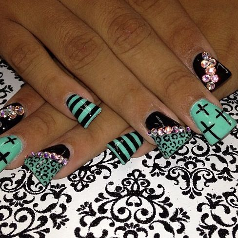 Love The Design Not So Much Duck Feet Duck Feet Nails