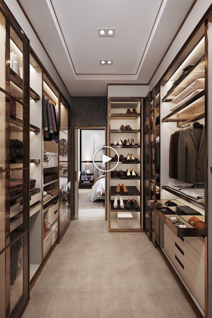 Appartement 2 Pieces Interieur De Behance In 2020 Luxury Closets Design Apartment Interior Design Dressing Room Design