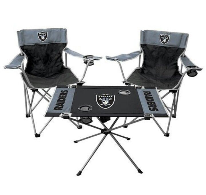 Beau Explore Tailgate Chairs, Nfl Oakland Raiders, And More!