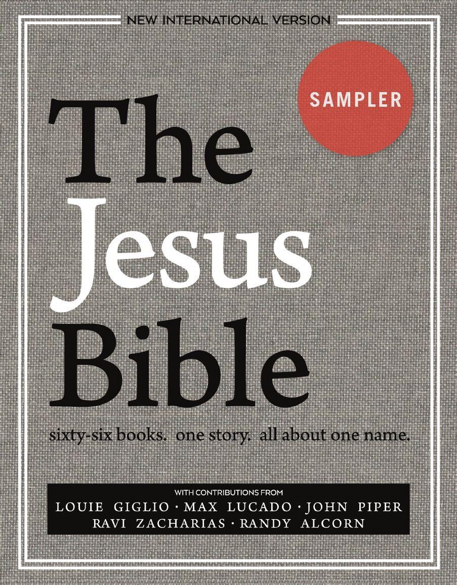 The Jesus Bible Niv Edition Jesus Bible Niv Bible Bible Commentary
