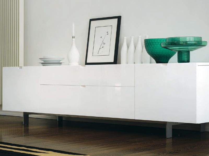 Feg Mobili ~ Lacquered wooden sideboard headline collection by feg industria