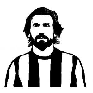 Disegno Di Andrea Pirlo Da Colorare Soccer Legends Andrea