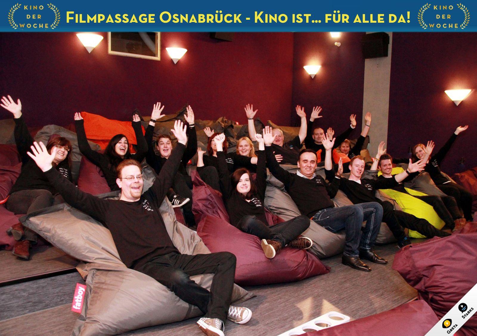 Filmpassage Osnabruck Wird Als Kino Der Woche Ausgezeichnet Mehr Infos Unter Www Facebook Com Gs Greta De Kino Filme