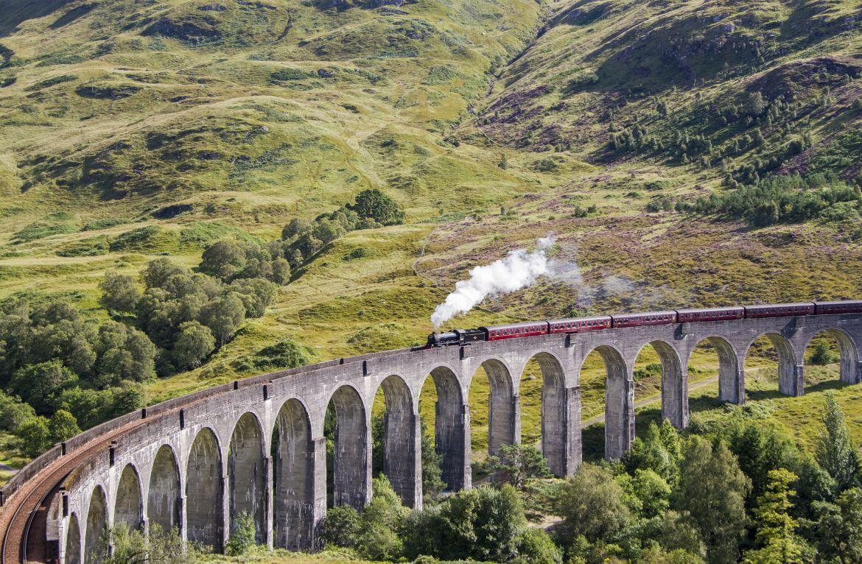Auf Den Spuren Von Harry Potter Visiting England Great Britain Train Travel
