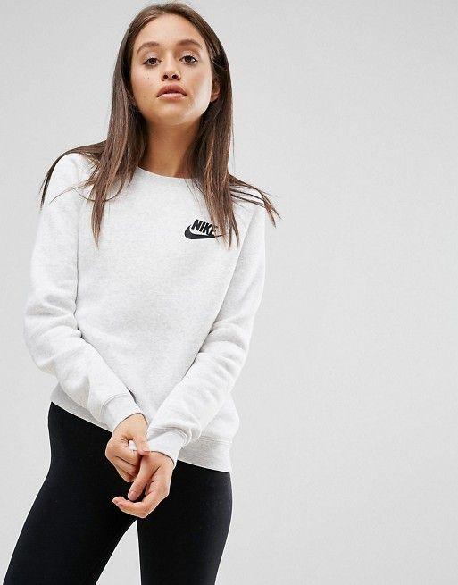 huge inventory premium selection best deals on Nike – Rally – Sweatshirt mit Rundhalsausschnitt | ASOS ...