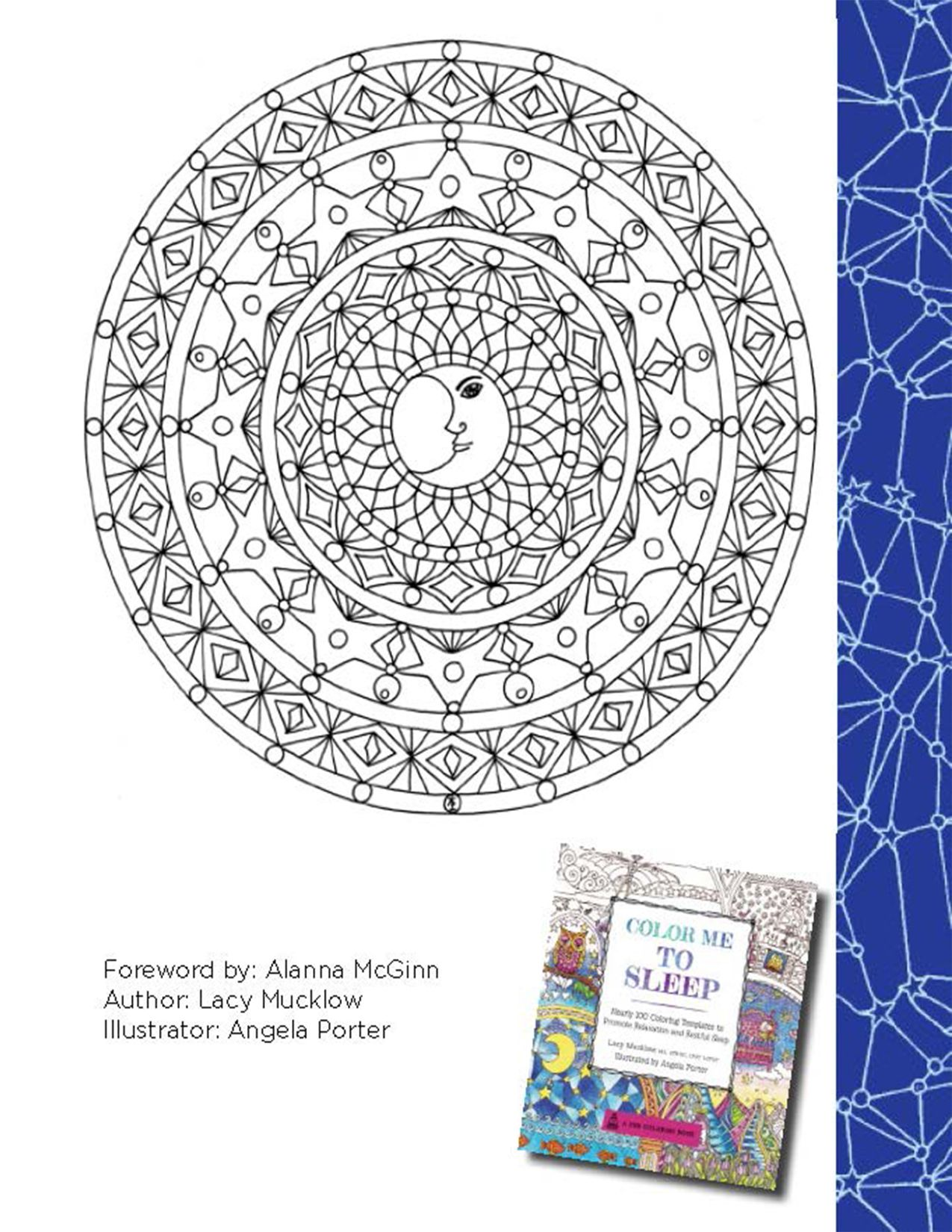 Color Me To Sleep Coloring Book Printables | coloring pages ...