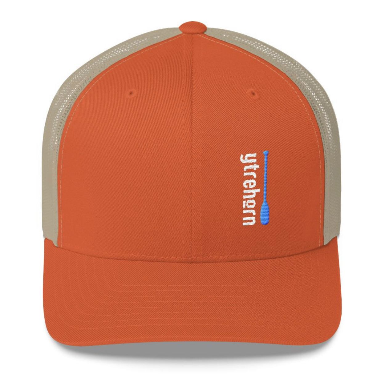 31a9b2abdceb8 Unisex SnapBack trucker hat in orange. Simple and stylish designs. A  Minnesota brand with Norwegian roots. More hat and color options available.