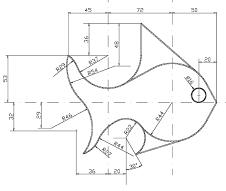 Tangencias Y Enlaces Ejercicio Nº2 Ejercicios De Dibujo Tecnicas De Dibujo Dibujo Tecnico Ejercicios
