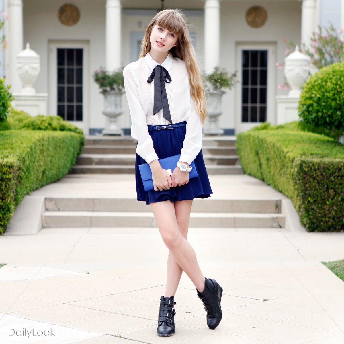 Schoolgirl Street Chic by Iris and Mustard Seed