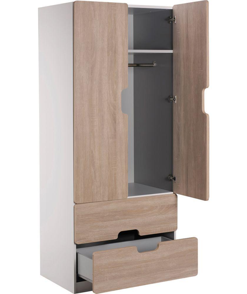 Buy Tolga 2 Drawer 2 Door Wardrobe Oak Effect At Argos