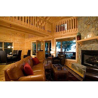 Living Area. Blue Ridge Cabin ...