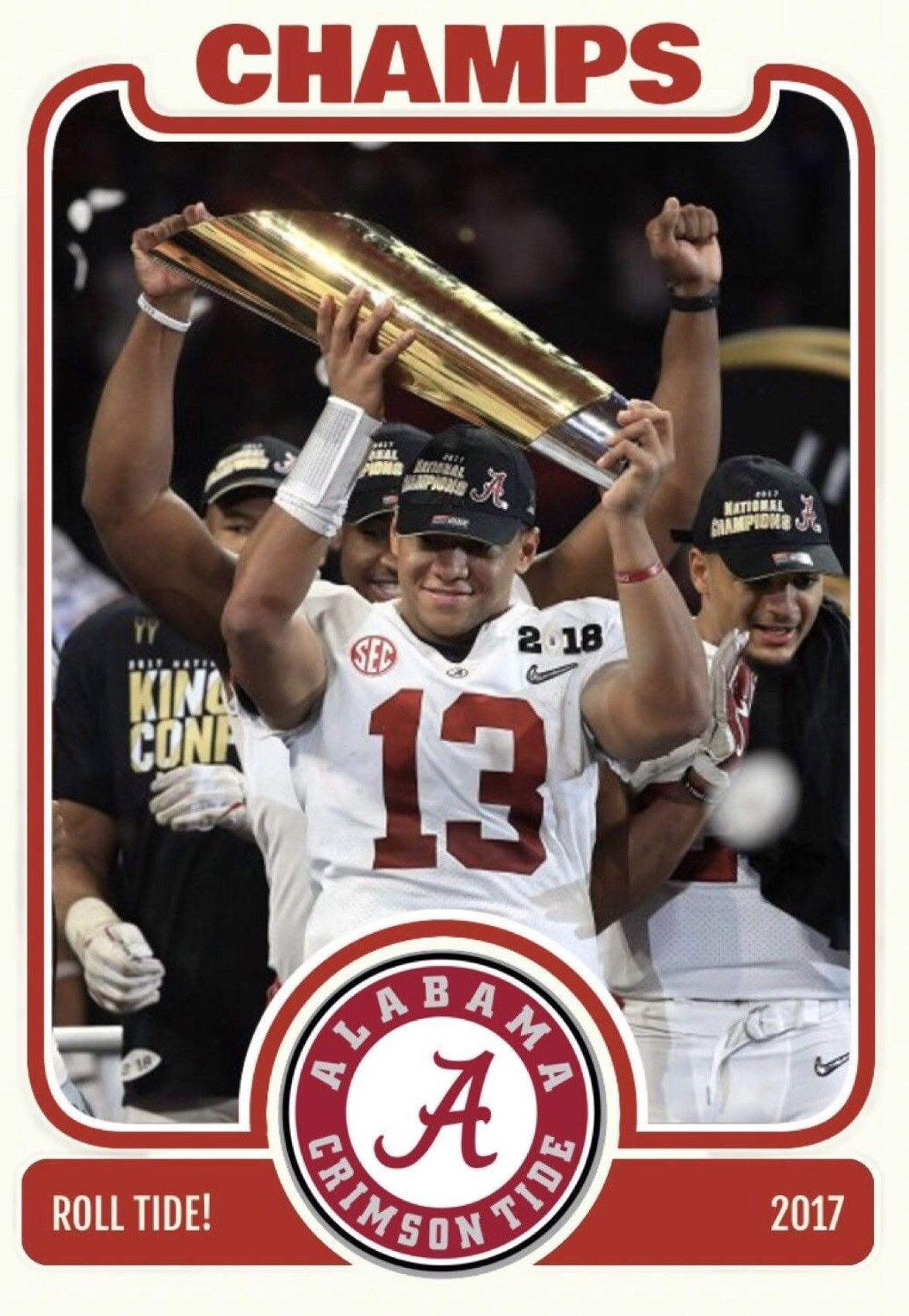 Tua Tagovailoa Alabama Rolltide Bama Builtbybama Rtr Crimsontide Rammerjammer Cfbpla Alabama Crimson Tide Football Alabama Crimson Tide Alabama Tide