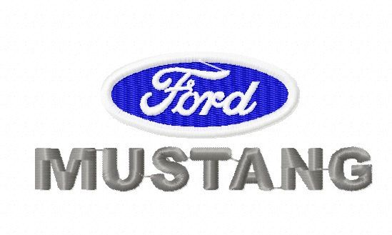 Ford Mustang Machine Embroidery Design 2 Sizes Machine Embroidery Designs Embroidery Designs Machine Embroidery