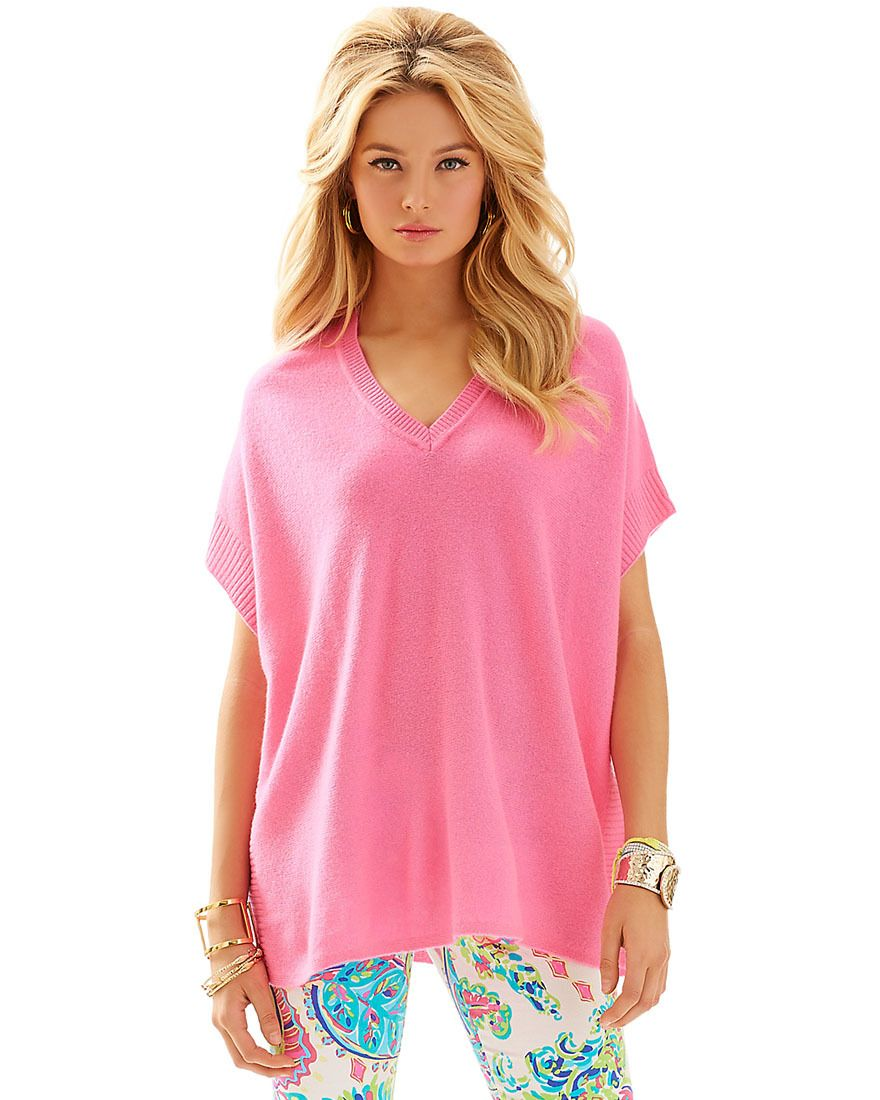 LILLY PULITZER - CHLOE CASHMERE SWEATER | ~Lilly Pulitzer~ | Pinterest