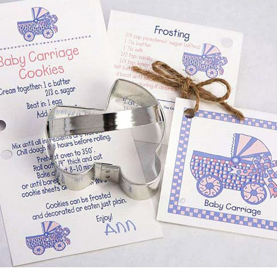 Baby Carriage Cookie Cutter Baby Shower Cookies Fondant Homemade