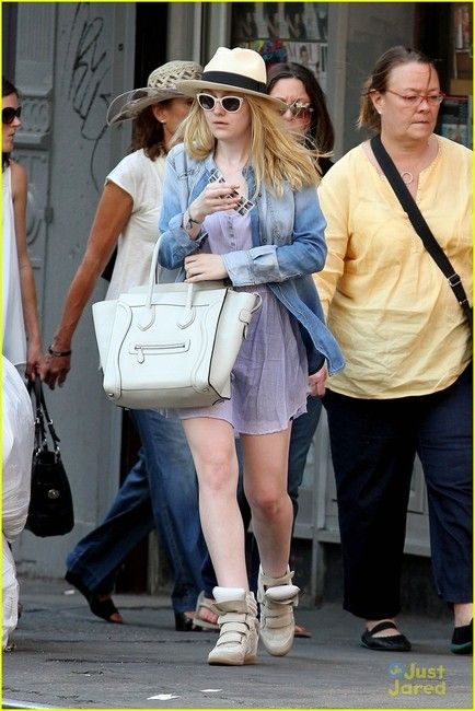 093b3289ad Dakota Fanning in more Isabel Marant Ray Ban Sunglasses Outlet